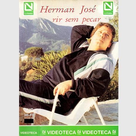 VHS-HERMAN-JOSE-RIR-SEM-PARAR-1986