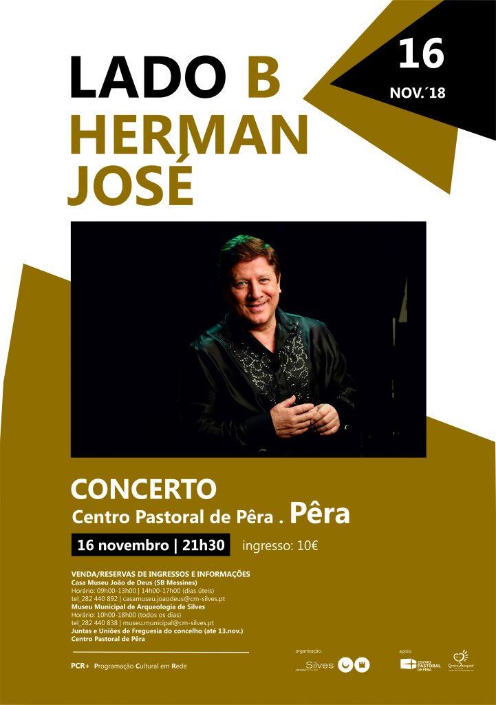 cartaz_Lado B_Herman José2018