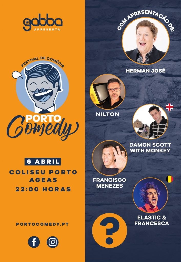 cartaz comedy porto