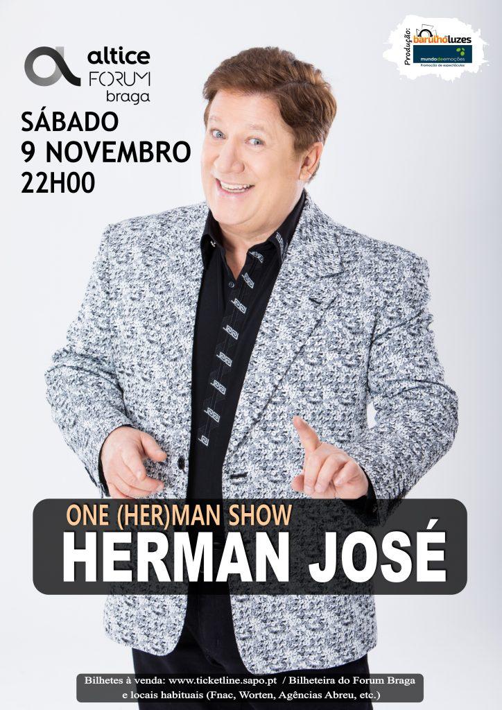 Cartaz Herman José Braga